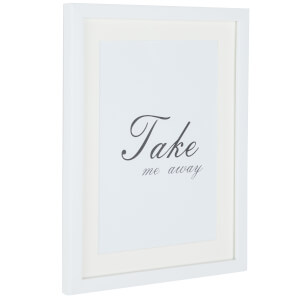 Grace Picture Frame 7 x 5 - White