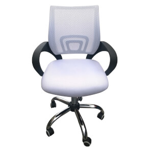 Tate Mesh Back Office Chair - White