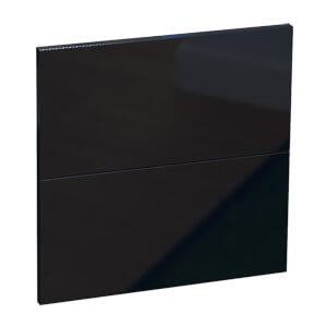 Modular Bedroom Slab 2 Drawer Chest Front - Navy Blue