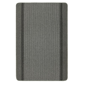 Richmond washable mat -Charcoal