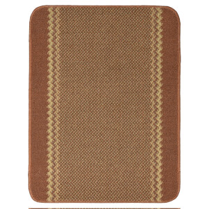 Richmond washable mat -Terracotta