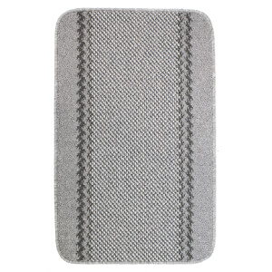 Richmond washable mat -Silver
