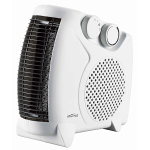 2000W Flat / Upright Fan Heater