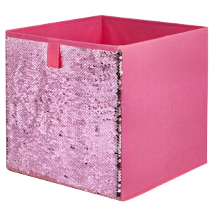 Compact Cube Sequin Insert - Pink