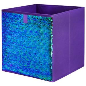 Compact Cube Sequin Insert - Purple