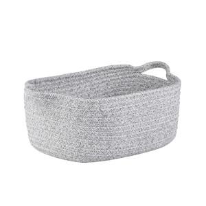 Cotton Rope Basket - Grey