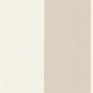 Holden Decor Galena Striped Textured Metallic Cream Wallpaper