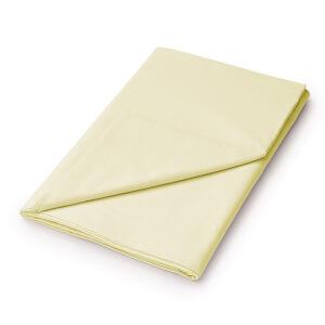 Helena Springfield Plain Dye Flat Sheet - Sinlge - Citron
