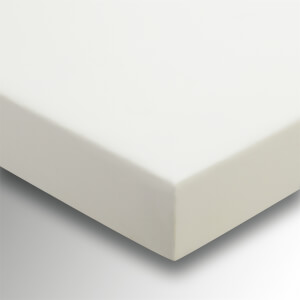 Helena Springfield Plain Dye Fitted Sheet - Double - Ivory
