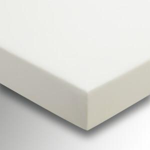 Helena Springfield Plain Dye Fitted Sheet - Super King - Ivory