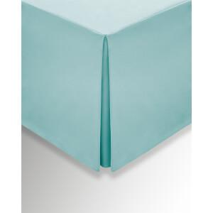 Helena Springfield Plain Dye Valances - King - Aquamarine