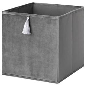 Compact Cube Velvet Insert - Grey