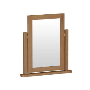 Newlyn Trinket Mirror - Oak