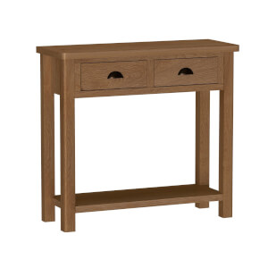 Newlyn Console Table - Oak