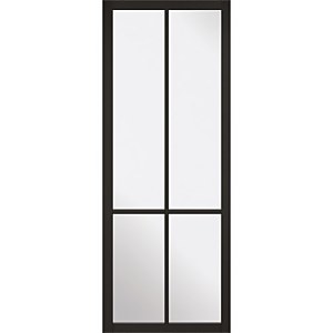 Liberty - Glazed - Black Internal Door - 1981 x 838 x 35mm