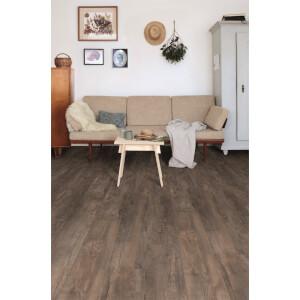 Embossed Luxury Vinyl Click Flooring -  Fontana Oak