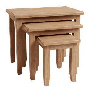 Kea Nest of 3 Tables - Oak