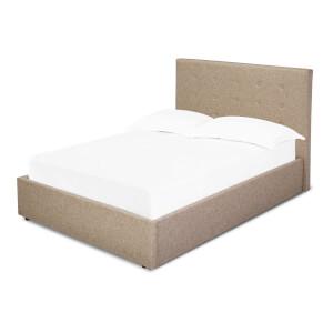 Lucca Double Bed - Beige