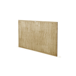 6ft x 4ft (1.83m x 1.22m) Pressure Treated Closeboard Fence Panel - Pack of 4