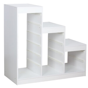 Eden Storage Drawers Frame - White