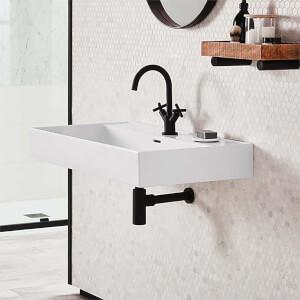 Bathstore Noir Veneto 800mm Basin