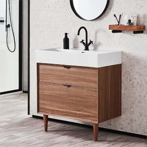 Bathstore Noir Craft 800mm Basin Unit