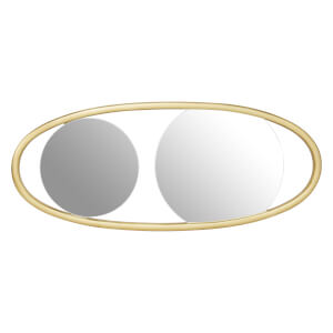Villa Small Oval Wall Mirror
