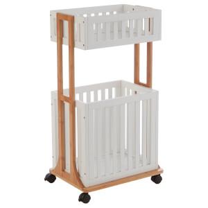 Nostra 2 Tier Storage Trolley