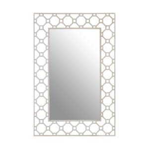 Zara Arabesque Wall Mirror - Silver