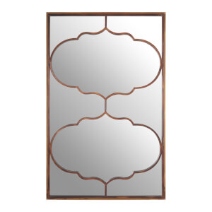 Zara Arabesque Wall Mirror - Gold