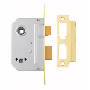 Yale PM236 Bathroom Sashlock 64mm - Brass