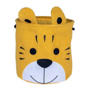 Flexi Storage Kids Furry Toy Hamper - Tiger