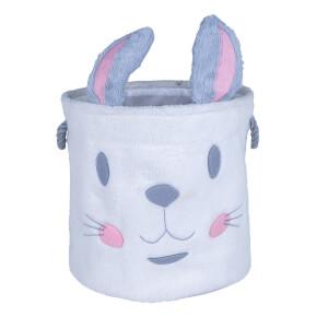 Flexi Storage Kids Furry Toy Hamper - Rabbit