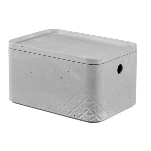 CURVER Beton Box with Lid - 4L (Small)