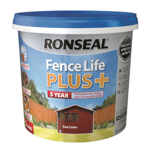 Ronseal Fence Life Plus - Red Cedar 5L