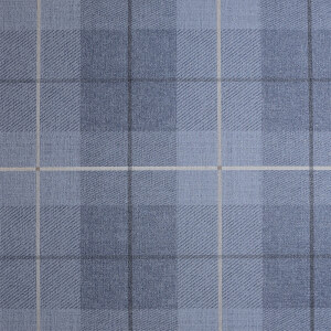 Arthouse Country Tartan Textured Denim Blue Wallpaper