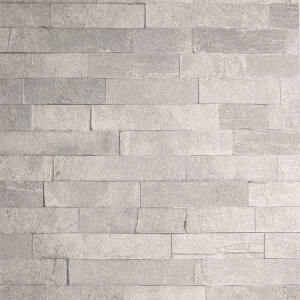 Arthouse Graphite Brick Textured Slate Taupe Wallpaper