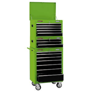 26 Inch Combi Roll Cabinet Tool Chest 15 Drawer