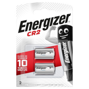Energizer CR2 Lithium Photo Batteries - 2 Pack