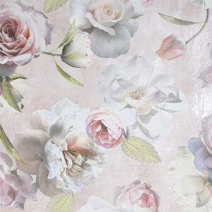 Arthouse Chelsea Garden Blush Wallpaper