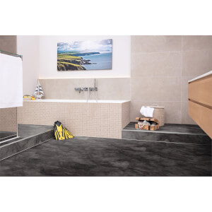 EGGER HOME Aqua+ Waterproof Leon Slate 8mm Laminate Flooring
