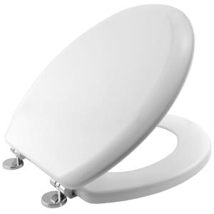 Bemis Montana White Toilet Seat