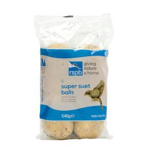 RSPB Super Suet Balls 6 Pack