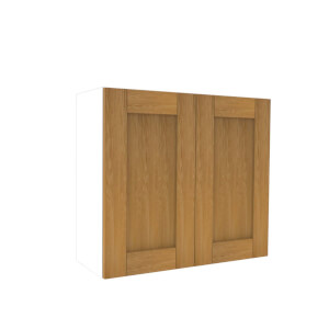Timber Shaker Oak 800mm Wall Unit