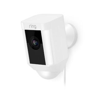 Ring Hardwired Spotlight Camera - White