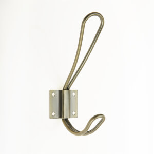Wire Hook - Antique Brass