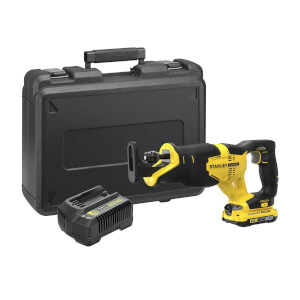 STANLEY FATMAX V20 18V Cordless Reciprocating Saw (SFMCS300D1K-GB)