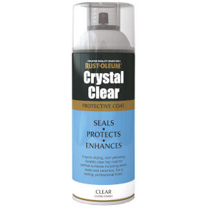 Rust-Oleum Gloss Spray Paint - Crystal Clear - 400ml