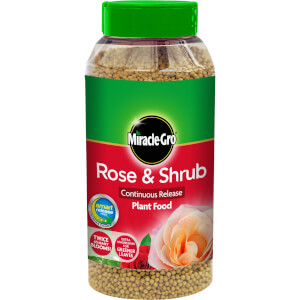 Miracle-Gro Rose & Shrub Continuous Release Plant Food - 1kg