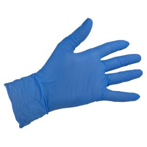 Blue Vinyl Gloves - Small - 10 Pack
